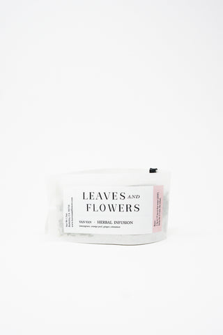 Leaves & Flowers Tea in Rice Paper Pouch - Van Van