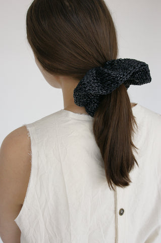 Reinhard Plank Pontova Scrunchie in Black