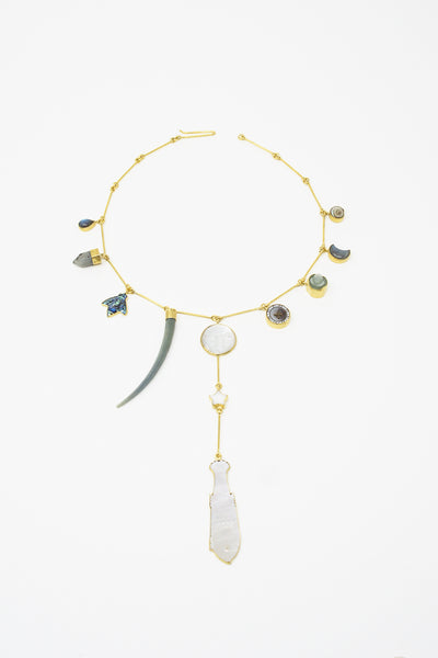 Grainne Morton Man on the Moon Necklace