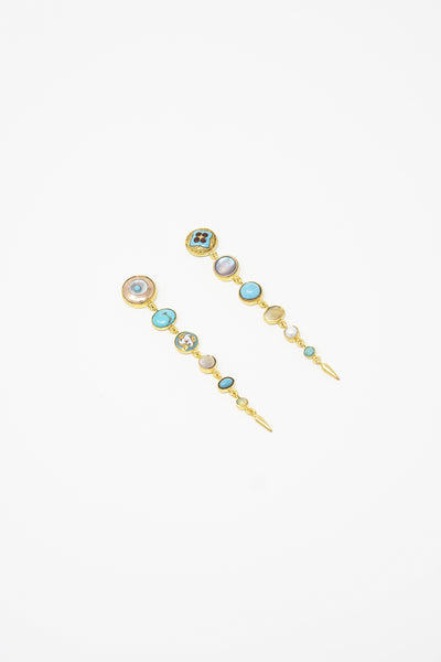 Grainne Morton Multi-Drop Victorian Earrings