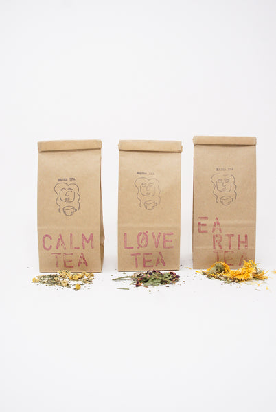 Masha Tea Classic Tea Bag in Calm, Love and Earth