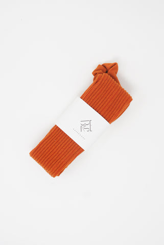 Baserange Overknee Socks in Murcott Orange