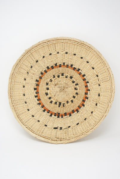 Incausa Xotehe Basket - Yanomami Graphism in Natural top view