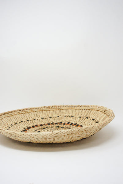 Incausa Xotehe Basket - Yanomami Graphism in Natural side view