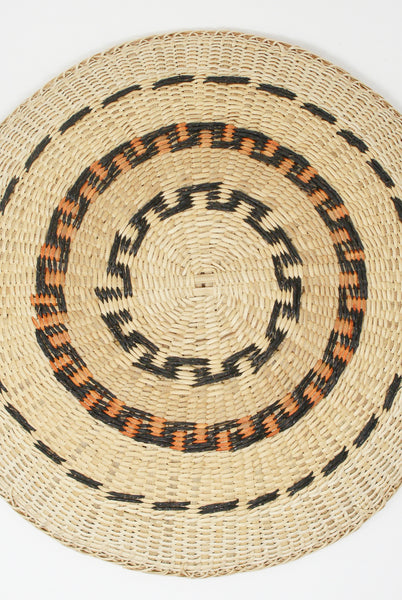 Incausa Xotehe Basket - Yanomami Graphism in Natural bottom view