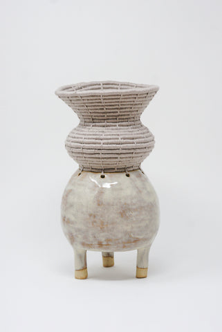Karen Tinney Vessel #684 in Gray front view