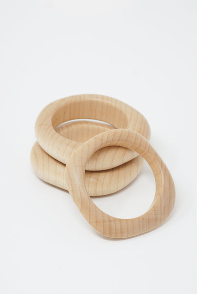Paso Objet Wood Bracelet wb01 in Hard Maple