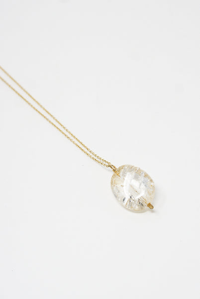 Mary MacGill Stone Drop Necklace in Included Crystal