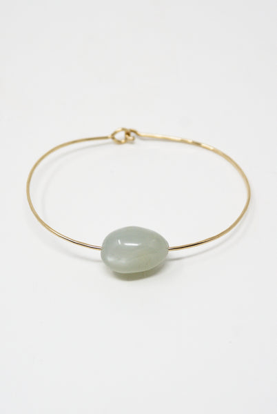 Mary MacGill Stone Cuff in Ceylon Moonstone