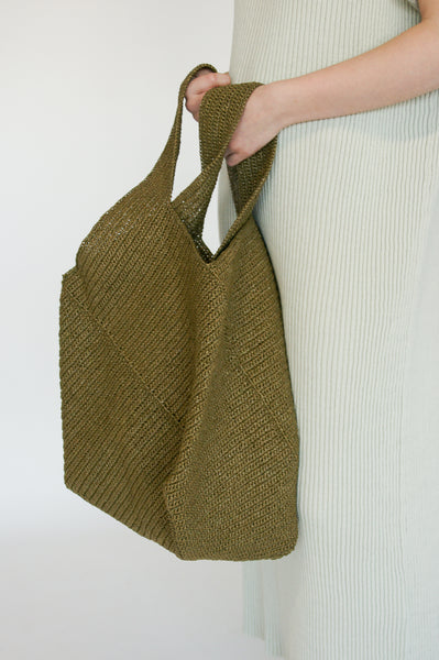 Lauren Manoogian Big Pinwheel Tote in Nori