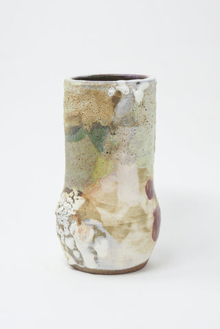Raina Lee Landscapes III Taper Vase in Earth Tones front view