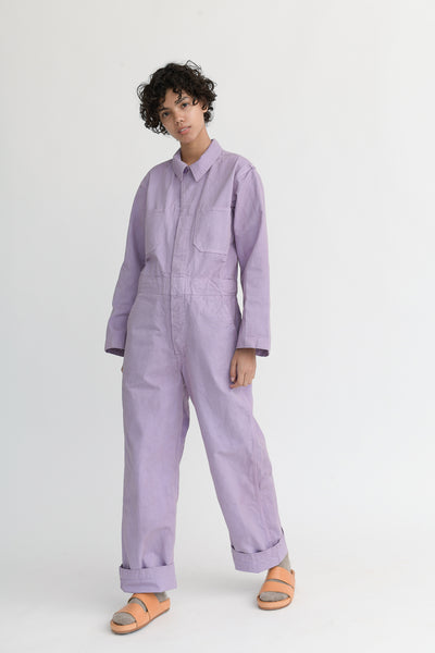 As Ever Zip Jumpsuit in Aster front