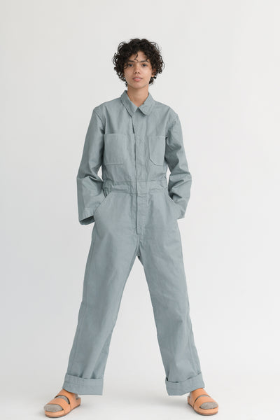 As Ever Zip Jumpsuit in Soapstone front