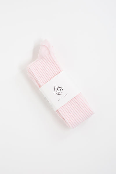 Baserange Overknee Socks in Ritz Rose | Oroboro Store | New York, NY