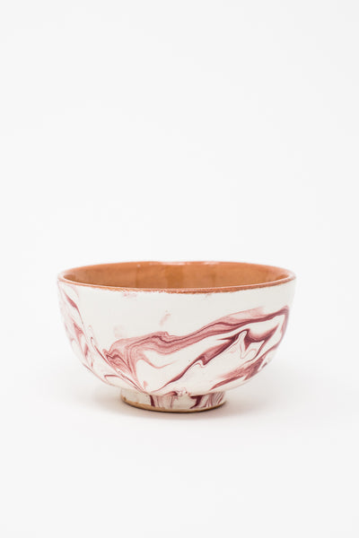 Oroboro Store Bowl in Burgundy Spiral | Oroboro Store | New York, NY