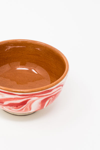 Oroboro Store Bowl in Red Spiral | Oroboro Store | New York, NY