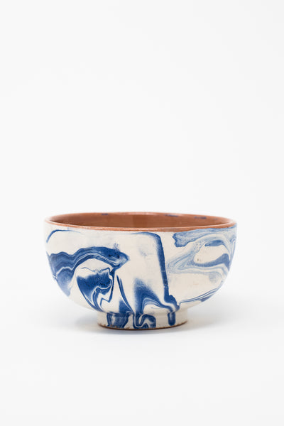 Oroboro Store Bowl in Blue Spiral | Oroboro Store | New York, NY