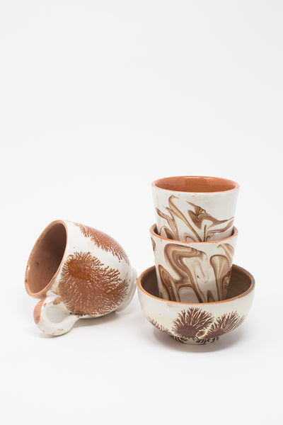 Oroboro Store Flower Bowl in Brown | Oroboro Store | New York, NY