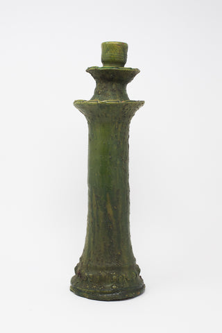 Oroboro Store Tall Candle Holder in Green | Oroboro Store | New York, NY