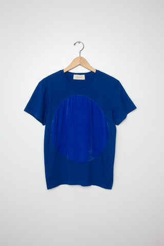 Correll Correll Velvet Circle T-Shirt in Blue