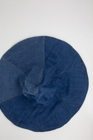 Rejina Pyo Demi Hat  in Denim Mix
