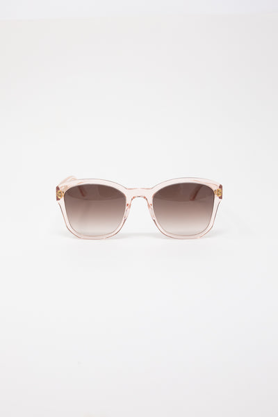 Eva Masaki Sunglasses BQE in Rose front view