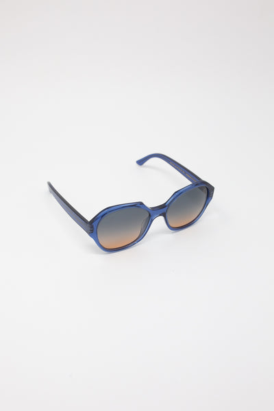Eva Masaki Sunglasses 001 in Dusk diagonal front view