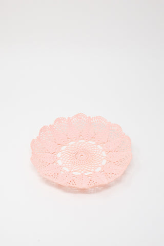 Neonette Lace Bowl in Pale Pink