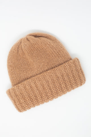 Samuji Chunky Beanie in Light Terracotta | Oroboro Store | New York, NY