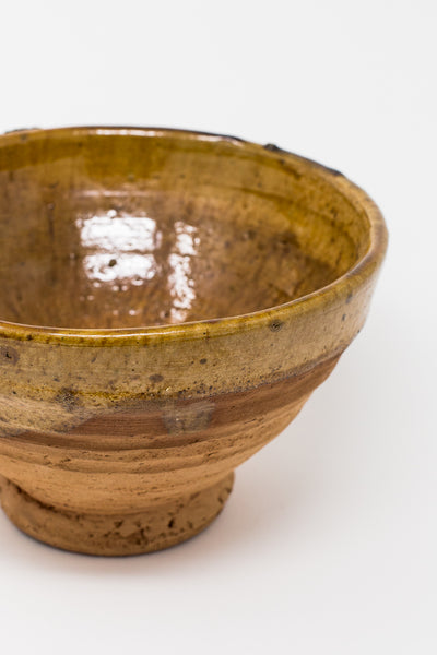 Oroboro Store Large Bowl in Yellow/Terra Cotta | Oroboro Store | New York, NY