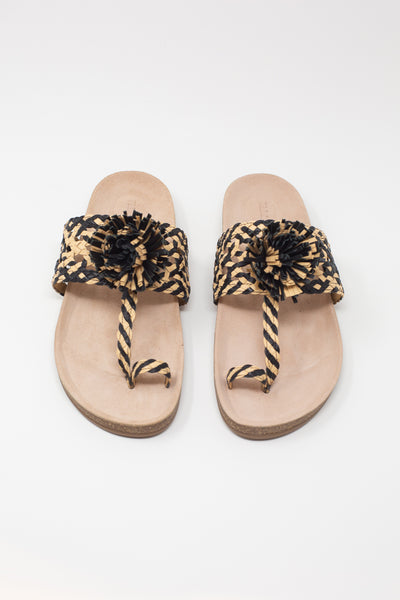 Ulla Johnson Netta Sandal in Melange | Oroboro Store | New York, NY