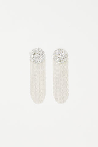 Hannah Keefe Dot Earrings in Silver
