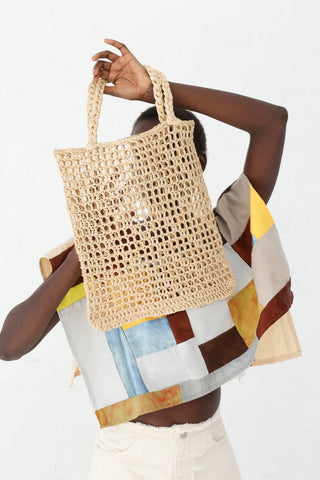 Reinhard Plank Pontova Bag in Straw and Natural | Oroboro Store | New York, NY