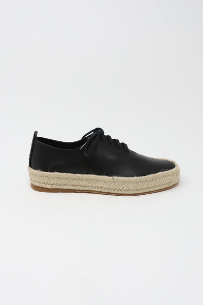 FEIT Espadrille Hand Sewn Court in Black | Oroboro Store | New York, NY