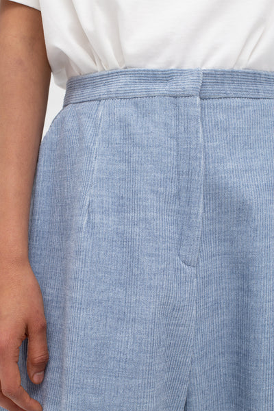 Samuji Olafina Egan Trousers in Light Blue | Oroboro Store | New York, NY