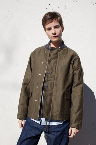 Chimala Unisex Vintage Deck Jacket in Olive Drab | Oroboro Store | Brooklyn, New York