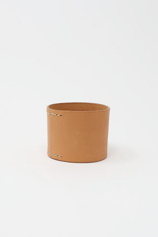 Lauren Manoogian Stitch Mono Cuff in Natural | Oroboro Store | New York, NY