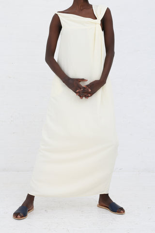 Shaina Mote Elia Dress in Crema | Oroboro Store | New York, NY
