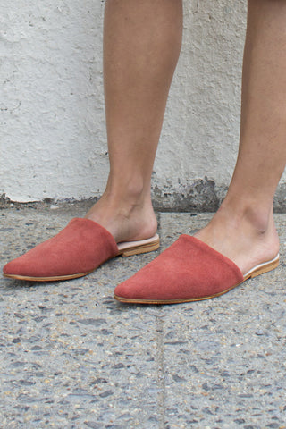 Brother Vellies Sister Mule in Burgundy | Oroboro Store | Brooklyn, New York