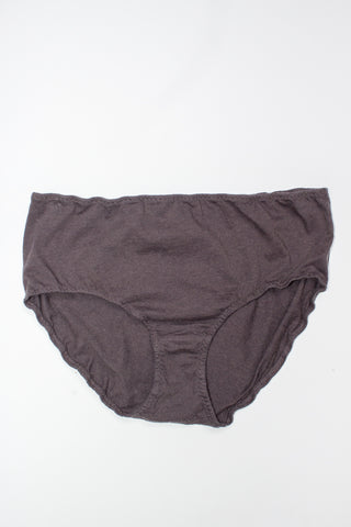 Lauren Manoogian X Pansy Cashmere High Rise Panty in Carbon | Oroboro Store | New York, NY