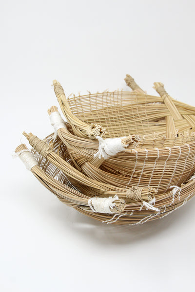 Incausa Basketry by Yawalapiti People Woven Kuno Basket in Natural | Oroboro Store | New York, NY