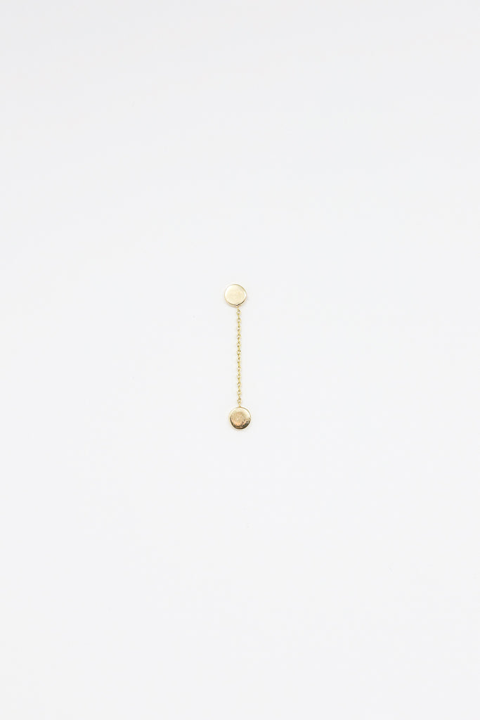 Quarry Elia Long Earring in 14k gold | Oroboro Store | New York, NY