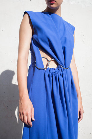 Yulia Kondranina Sleeveless Dress with Twist | Oroboro Store | Brooklyn, New York