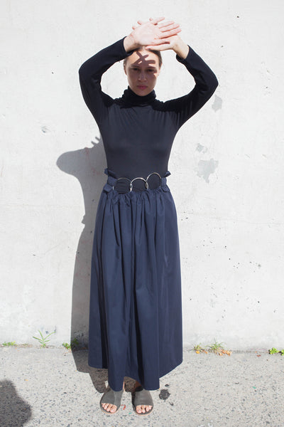 Yulia Kondranina Maxi Skirt with Ring | Oroboro Store | Brooklyn, New York