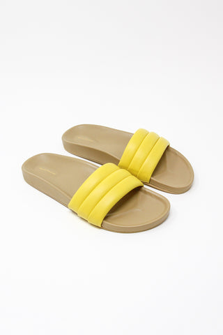 Beatrice Valenzuela Classic Sandalia in Sunflower | Oroboro Store | New York, NY