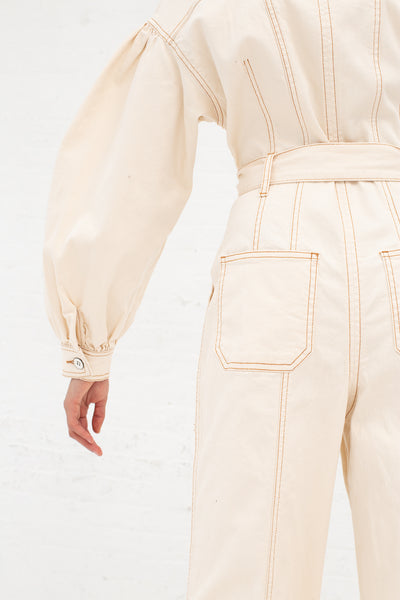 Ulla Johnson Akiba Jumpsuit in Blanc | Oroboro Store | New York, NY