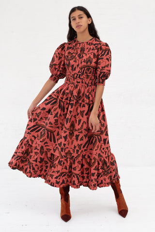 Ulla Johnson Indah Dress in Cinnbar | Oroboro Store | New York, NY