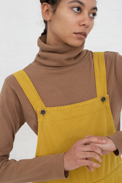 Ichi Antiquites Turtleneck in Camel cropped front view