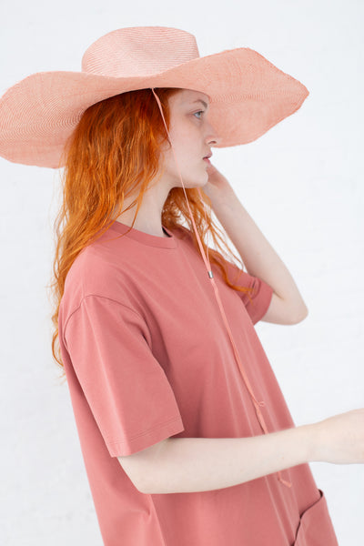 Clyde Poppy Hat in Pink|Oroboro Store | New York, NY