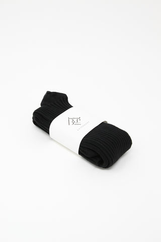 Baserange Overknee Socks in Black | Oroboro Store | New York, NY